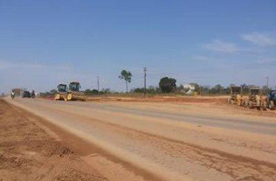 Trevo do Anel Viário na BR-364 em Ji-Paraná é construído