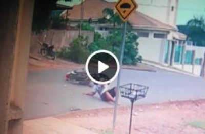 Ouro Preto: ao evitar atropelar gato, jovem sofre queda de moto