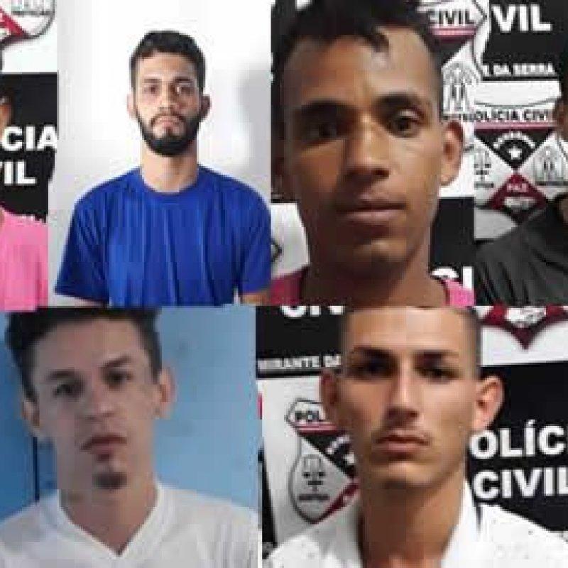 PC de Mirante da Serra prende membros de facção que cometeram homicídio e filmaram