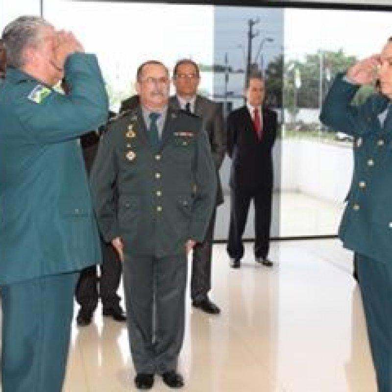 Polícia Militar realiza cerimonial de troca do comando-geral