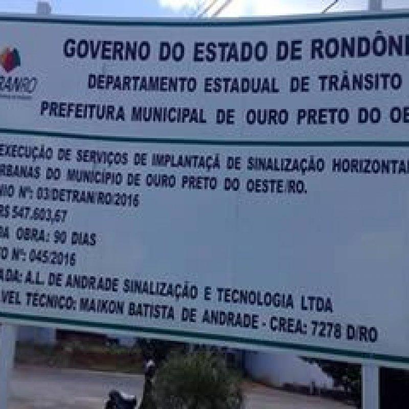 Ouro Preto: MP instaura inquérito civil público para apurar obras de sinalização