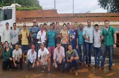 Deputado Marcelino Tenório participa da entrega de mudas de café clonal