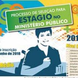 MP de RO abre inscrições para seleção de estagiários de nível médio e superior