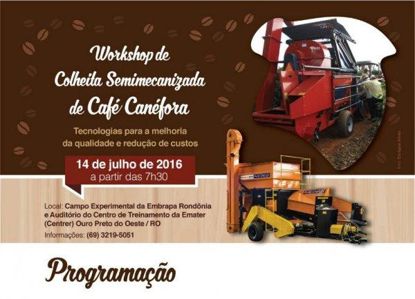 Workshop de Colheita Semimecanizada de Café Canéfora