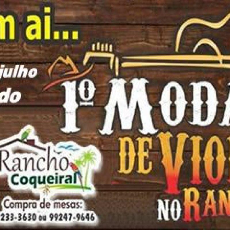 Ouro Preto: Rancho Coqueiral promove moda de viola neste sábado (22)