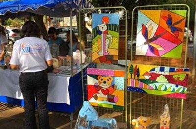 1ª Expo Arte Pestalozzi acontece nesta quinta-feira (13), em Ouro Preto do Oeste