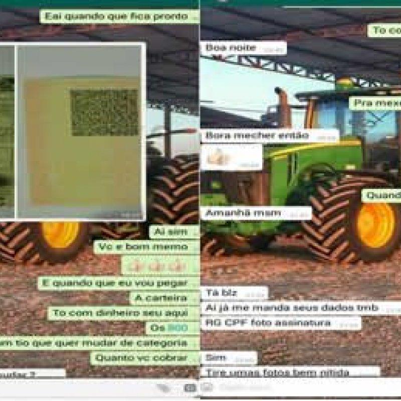 Homem procura polícia ao tentar comprar CHN falsa pelo WhatsApp