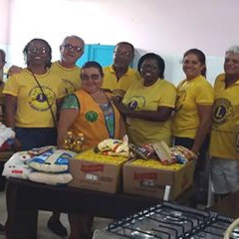Lions Clube entrega donativos à SEMAS, que serão destinados às vítimas da enchente
