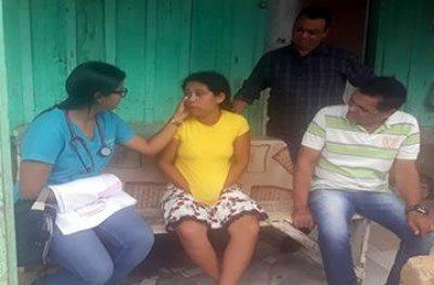 Equipe do PSF realiza mutirão de atendimento às famílias atingidas pela enchente