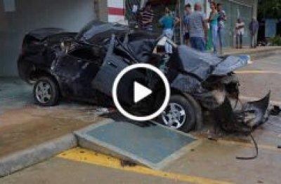 Vídeo mostra momento em que detento atropelou e matou ciclista