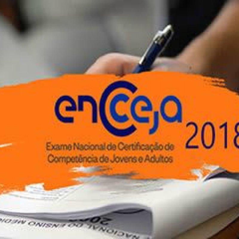 Inscrições para o Encceja 2018 começam nesta segunda-feira (16)