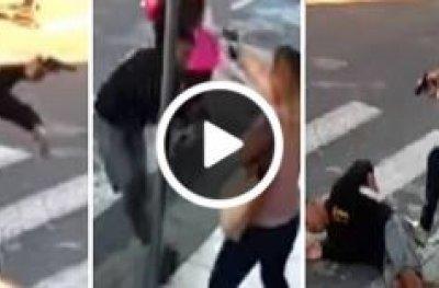 Mãe PM reage a assalto em escola de filha, atira e mata bandido