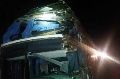 Grave acidente envolvendo ônibus da Eucatur deixa uma pessoa morta na BR 364