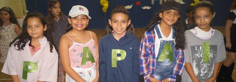 Confraternização do Dia dos Pais da Escola Cecília Meireles