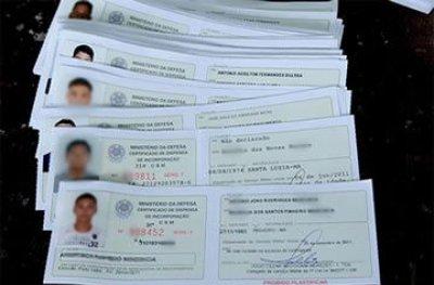 Ouro Preto: Junta Militar alerta para prazo de retirada do Certificado de Dispensa de Incorporação
