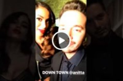 J Balvin Ft Anitta Downtown | Behind The Scenes