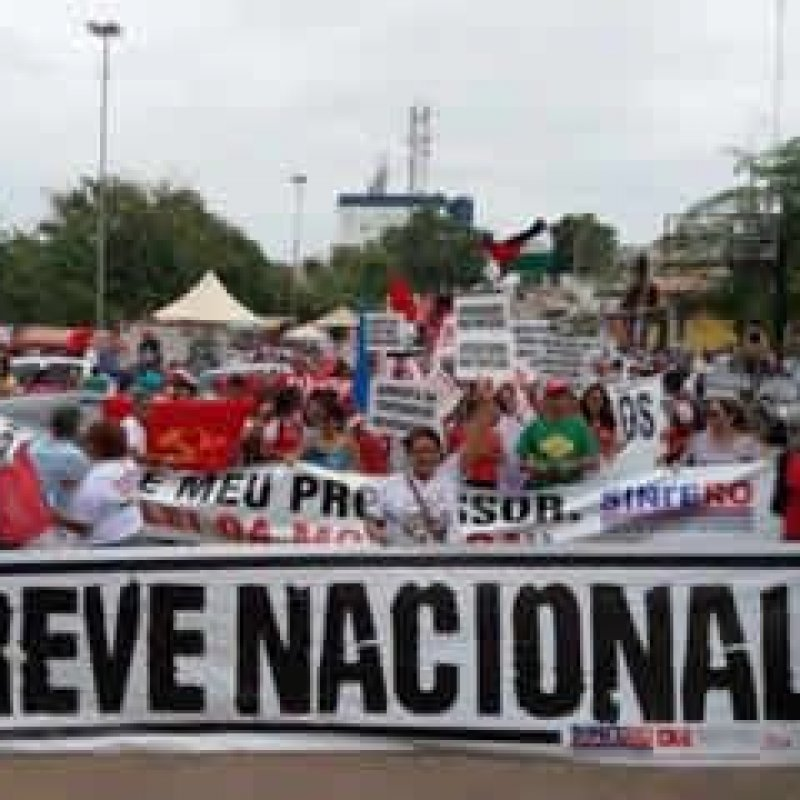 Greve geral na educação em Rondônia é por tempo indeterminado