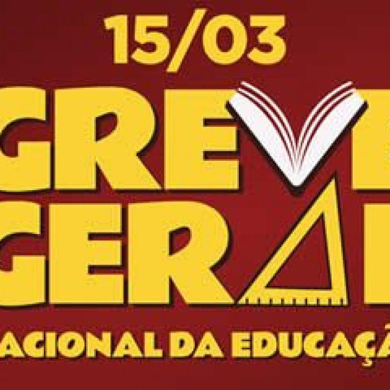 Educadores de todo o país entram em greve geral a partir do dia 15 de março