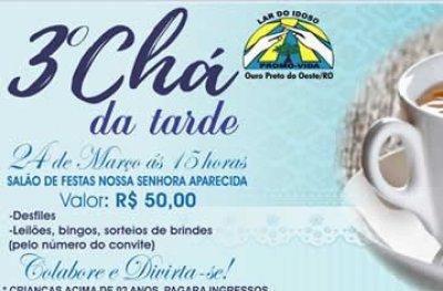 Mana's de Ouro Preto participará em um grande desfile no 3º Chá da tarde