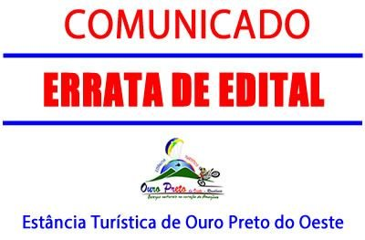 Prefeitura divulga errata do Edital de Convocação dos aprovados no concurso de 2016
