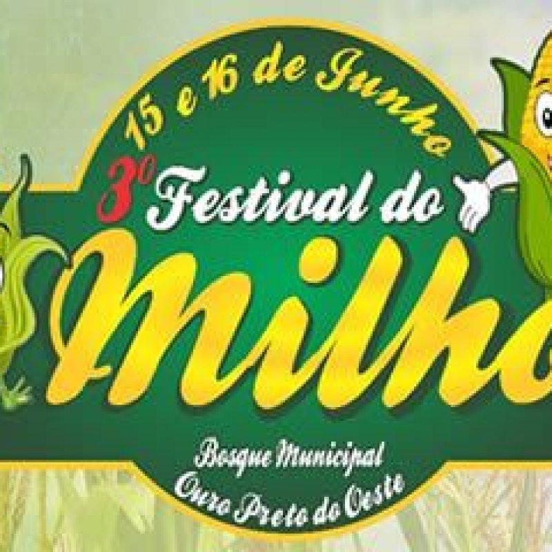 3° Festival do Milho acontece nesta sexta e sábado em Ouro Preto do Oeste