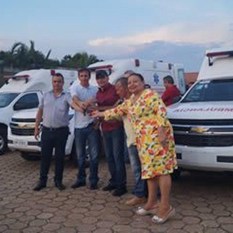 Município de Ouro Preto do Oeste conta com três novas ambulâncias