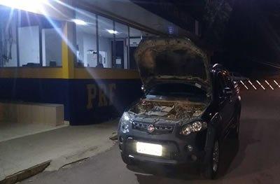Em Ji-Paraná, PRF apreende veículo adulterado