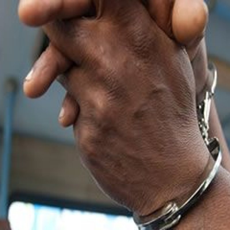 Homem é detido ao ser flagrado em cima de pé de jabuticaba tentando pular muro de residência