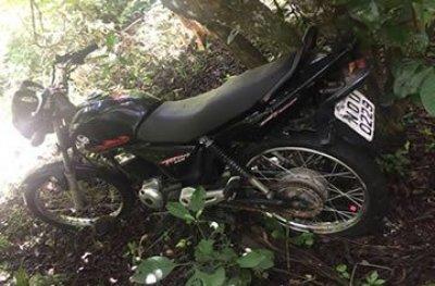Polícia Civil de Urupá recupera moto furtada durante festividade