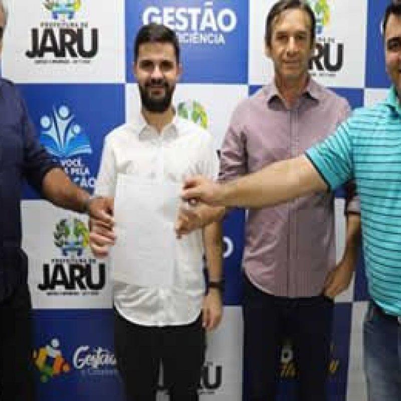 Marcelino Tenório destina R$ 400 mil para Jaru