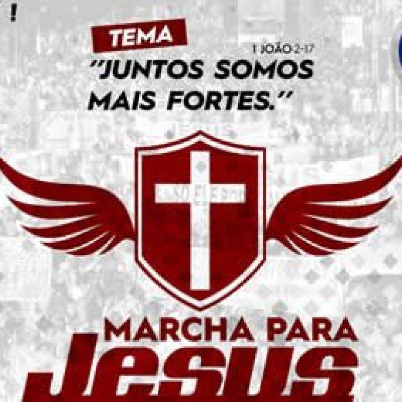 Primeira Marcha para Jesus acontece no próximo sábado em Ouro Preto do Oeste