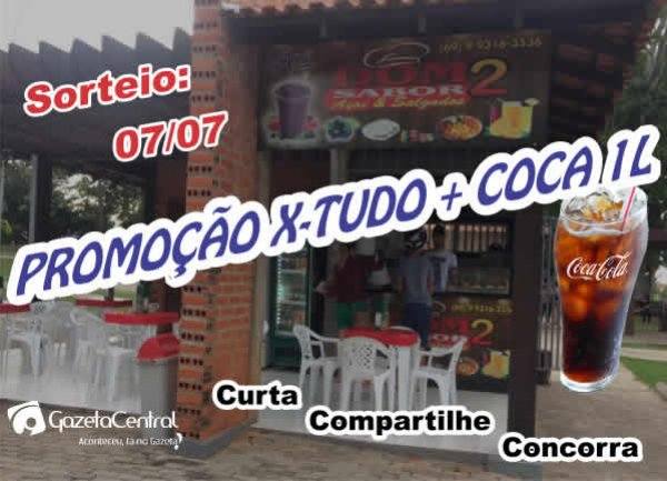 X-tudo + Coca 1L da Dom Sabor 2