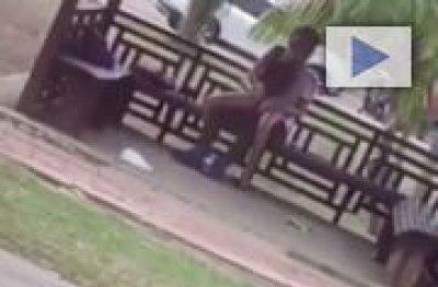 Jovens são flagrados praticando sexo em quiosque em Parque no AC
