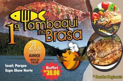 1° Tambaqui na Brasa acontece neste domingo (21), em Ouro Preto do Oeste
