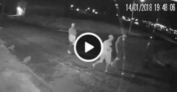 Criminosos são filmados logo após furtar residência em Ji-Paraná