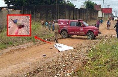 Ji-Paraná: caminhão mata homem esmagado após sair de supermercado