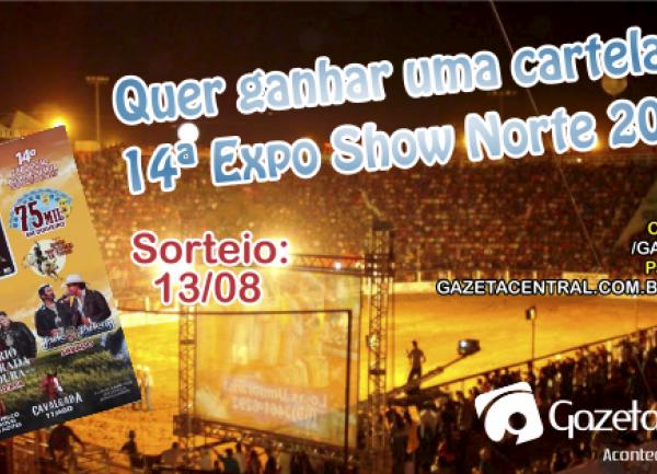 Promoção Cartela da Expo Show Norte 2018