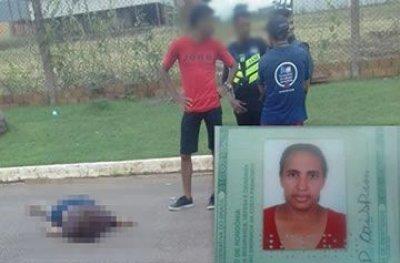 Mulher morre após ser atropelada por motorista embriagado em Jaru