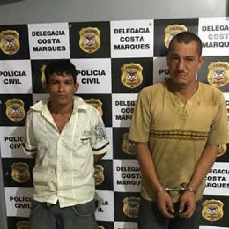 Dupla é presa por receptação e Polícia Civil de Costa Marques recupera moto furtada em Ji-Paraná