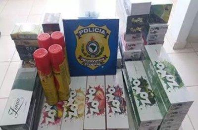 Rondônia: Polícia Rodoviária Federal apreende carga de cigarro contrabandeado
