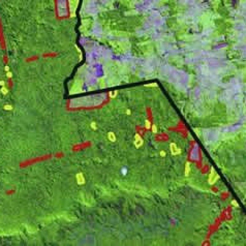 Sipam identifica desmatamento ilegal em terras indígenas de RO, AC e MT