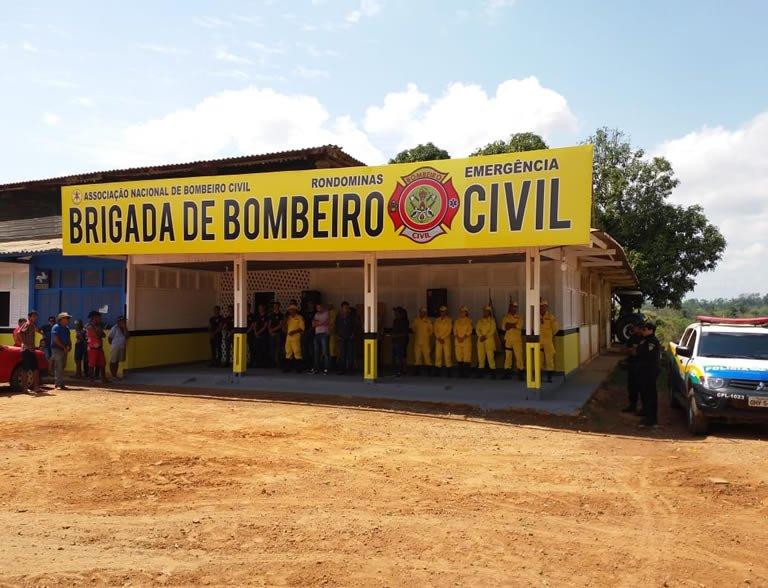 Ouro Preto: Brigada de Bombeiros Civil é pré-inaugurada no Distrito de Rondominas