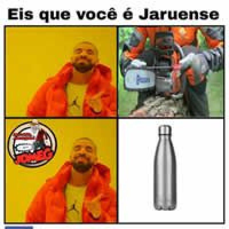 Caso da garrafa térmica gera vários memes em Jaru