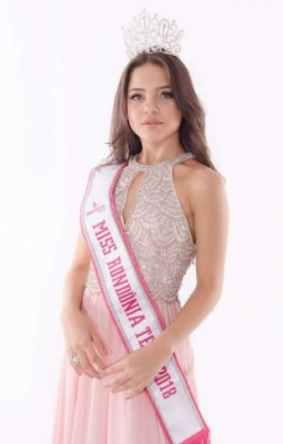 Tauany Martins representa Rondônia no Miss Brasil Teen 2018
