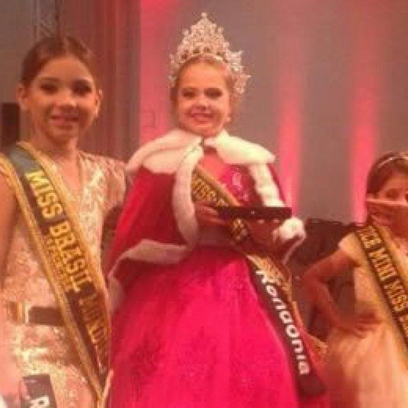 Ex–Moradora de Ouro Preto ganha o Miss Mirim do Brasil