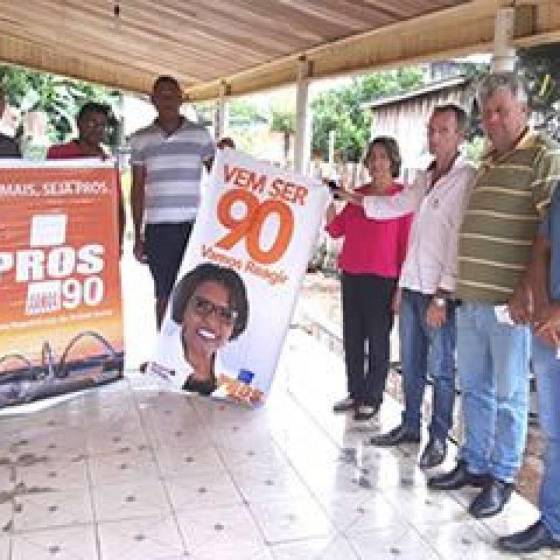 PRÓS Rondônia: Rosária Helena participa de reunião com lideranças em Campo Novo