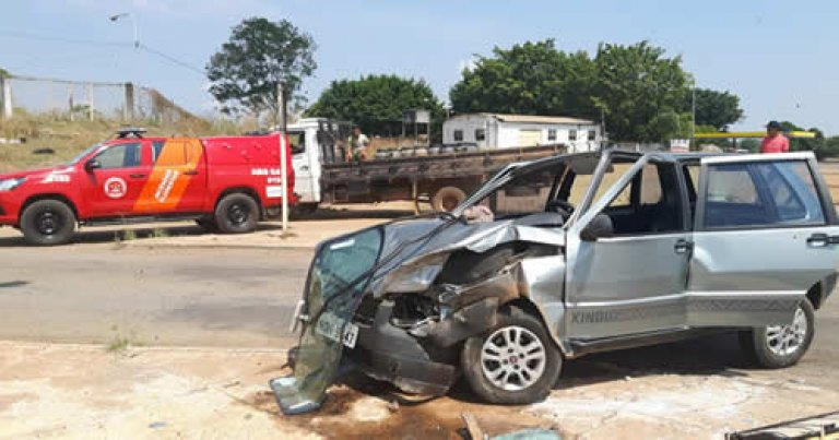 Ouro Preto: Casal sofre grave acidente no cruzamento da Br-364 com RO-470