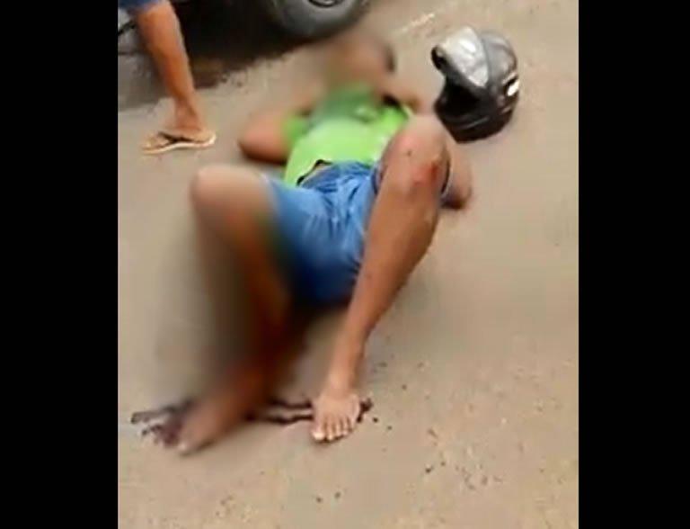 Ouro Preto: motociclista tem fratura exposta ao se envolver em acidente no Cruzamento da Morte