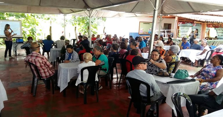 Semana do Idoso é marcada por palestras e confraternização em Ouro Preto