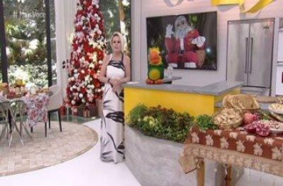Papai Noel Gigante de Ji-Paraná é destaque no programa Mais Você